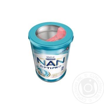 Смесь молочная Нестле Нан 2 сухая для детей с 6 месяцев 400г - купить, цены на Фуршет - фото 2