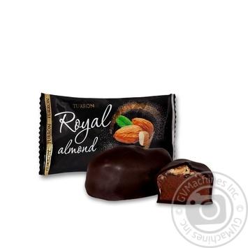 Конфеты Turron Royal Almond с миндалем в шоколадной глазури