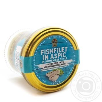 Філе риби з зеленим горошком по-домашньомуErste Kaviar с/б200 гр