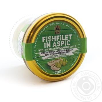 Філе риби з огірком і кропом по-домашньому Erste Kaviar с/б 200 гр