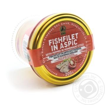 Філе риби з паприкою по-домашньому Erste Kaviar с/б200 гр