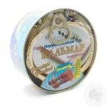 Seafood squid Proliv canned 185g can