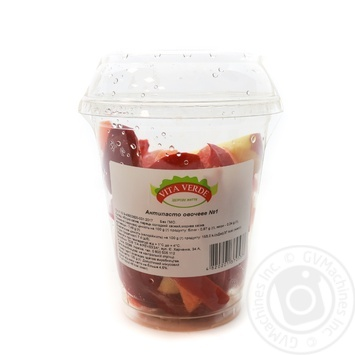 Микс Vita Verde Антипасто овощное №1 (яблоко, сладкий перец, морковь) 125г