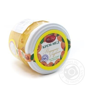 Крем-мед Парадайз з курагою Мак-Дей 250г