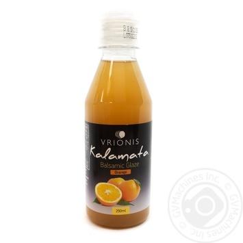 Соус бальзамічний зі смаком апельсину пастеризована Kalamata пэт 250мл