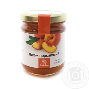 Джем Fruit Farm персиковый 230г - купить, цены на Novus - фото 1