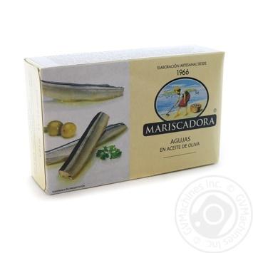 Сарган в оливковій олії Mariscadora ж/б 125мл