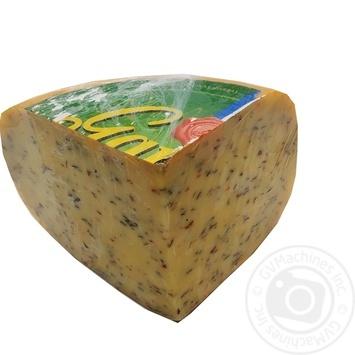 Сир 50% Гауда з зеленими травами Gardeli ваг