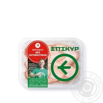 Крыло Эпикур цыпленка-бройлера охлажденное фасованное (маленькая упаковка) ~500г