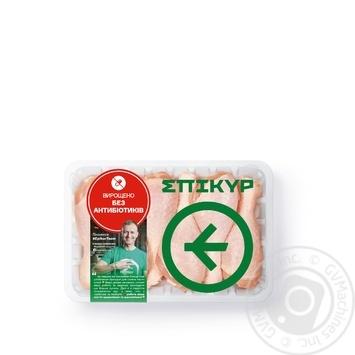 Голень цыпленка-бройлера охлажденное фасованное (большая упаковка) ~1000г
