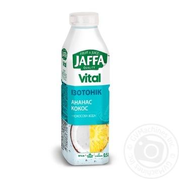 Напиток соковый Jaffa Vital Изотоник ананас кокос 500мл - купить, цены на Novus - фото 1