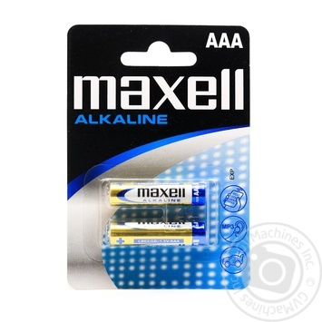 Батарейка Maxell alkaline LR03 AAA 2шт - купить, цены на Таврия В - фото 1
