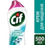 Cif Чистящий крем Зеленая свежесть 500мл - купить, цены на Novus - фото 3