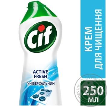 Чистячий крем Cif Active fresh Універсальний 250мл - купити, ціни на Novus - фото 2