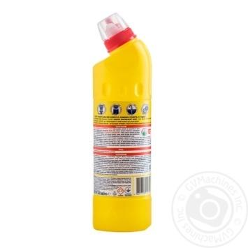 Чистящее и дезинфицирующее средство Domestos Двойная сила  Лимонная свежесть 500мл - купить, цены на Novus - фото 2