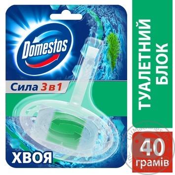 Блок для унитаза Domestos Хвоя 40г - купить, цены на Novus - фото 3
