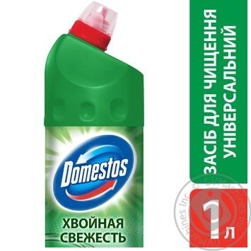 Чистящее средство Domestos Хвойная свежесть универсальное 1л - купить, цены на Novus - фото 2