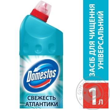 Чистящее средство Domestos Свежесть Атлантики 1л - купить, цены на МегаМаркет - фото 2