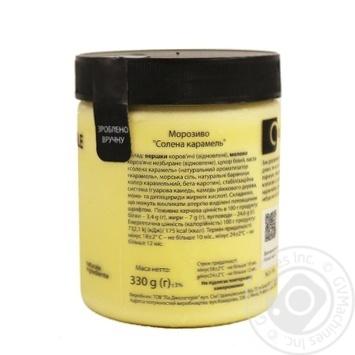 Мороженое La Gelateria italiana соленая карамель 330г - купить, цены на Novus - фото 2
