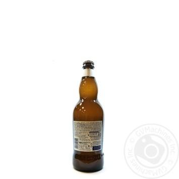 Пиво Hoegaarden Wit-Blanche світле 4,9% 0,75л - купити, ціни на МегаМаркет - фото 4