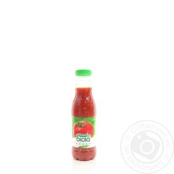 Сок Биола томатный с мякотью 0.5л