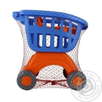Игрушка Полесье Мини тележка для маркета в ассортименте - купить, цены на Novus - фото 2
