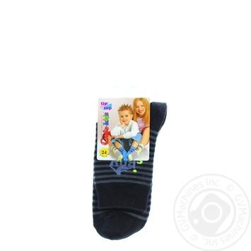 Conte-kids Tip-Top Black Children's Socks 24s - buy, prices for UltraMarket - photo 1