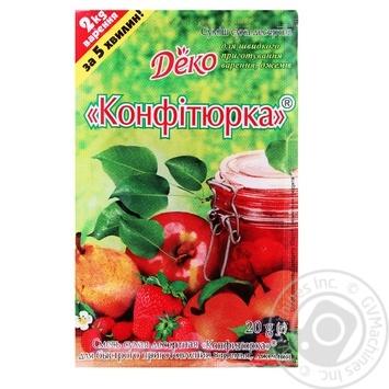 Суміш суха десертна Деко Конфітюрка 20г - купити, ціни на МегаМаркет - фото 2