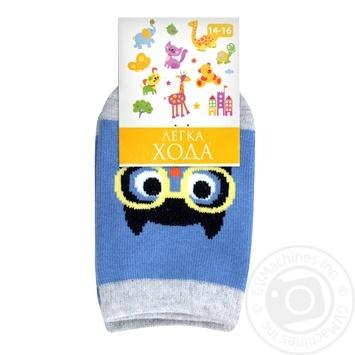 Legka Choda Blue Children's Socks 14-16s - buy, prices for MegaMarket - image 3