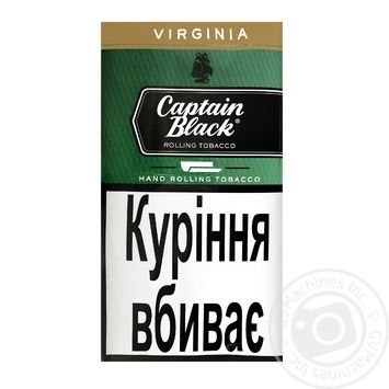 Тютюн Captain Black Virginia 30г - купити, ціни на ЕКО Маркет - фото 1