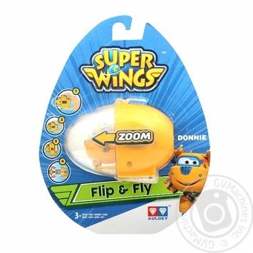 Іграшка Super Wings Donnie запускний пристрій - купити, ціни на МегаМаркет - фото 1