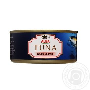 Fish tuna Alba whole 150g can - buy, prices for Novus - image 1