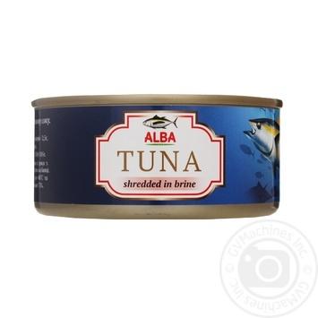 Тунец Alba салатный в собственном соку 150г - купить, цены на МегаМаркет - фото 1