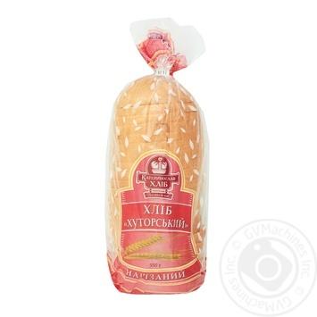Хлеб Катеринославхлеб Хуторской нарезной 550г - купить, цены на Varus - фото 1