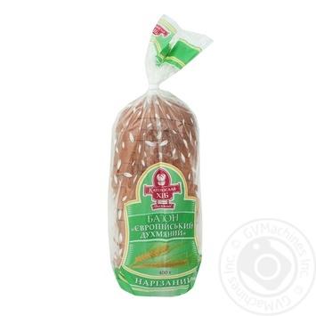 Katerynoslavkhlib European Sliced Loaf 400g