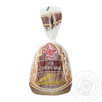 Хліб Катеринославхліб Слов'янський нарізний половинка 300г - купити, ціни на Ашан - фото 1