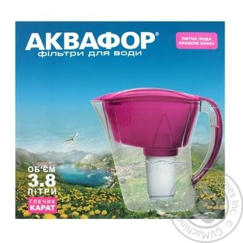 Akvafor Water Filter 3.8L - buy, prices for CityMarket - photo 2