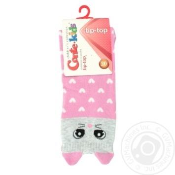 Шкарпетки дитячі Conte kids Tip-Top 17С-59СП, розмір 20, 321 світло-рожевий