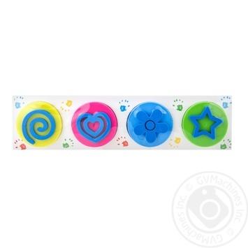 Набір для дитячої творчості Малюємо пальчиками Неонові кольори Genio Kids-Art - купить, цены на Novus - фото 1