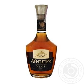 Ai-Petri 4 stars Reserve V.S.O.P.cognac  40% 0,5l - buy, prices for Novus - image 1