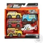Toy State set cars 5pcs