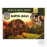 Карта-пазл Флора та фауна України Uteria