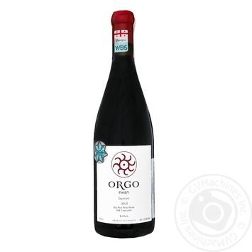 Orgo Saperavi red dry wine 13,5% 0,75l