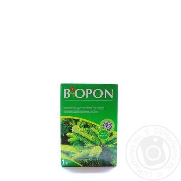 Добриво для хвойних рослин Biopon 1кг - купити, ціни на Novus - фото 1