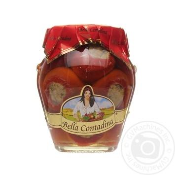 Перець фарширований тунцем в олії Bella Contadina 314мл