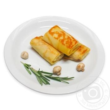 Млинці з куркою та грибами - купити, ціни на МегаМаркет - фото 1