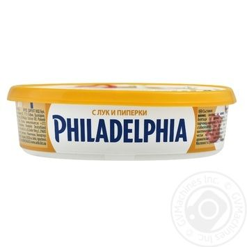 Крем-сыр Philadelphia original с луком перцем и укропом 175г