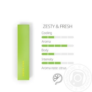 Heets Green Zing Tobacco Sticks 0,008g*20pcs - buy, prices for MegaMarket - image 2