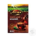 Tea Lisma black loose 90g cardboard packaging