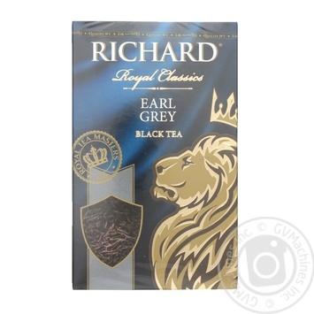 Чай черный Richard Royal Earl Grey 90г